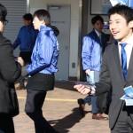 3/9 駅頭活動