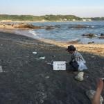 7/26 長浜町内会での海岸清掃