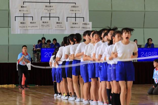 1/23 小学生たちが全力で跳んだ!感動の大縄跳び大会!