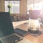 12/11 シェアオフィス「16 Startups」では美味しいコーヒーを飲みながら仕事ができます。No coffee,No good idea.