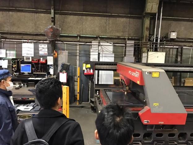 12/20 若手ものづくり系工場、金属加工のANAテックさんを見学させていただきました。