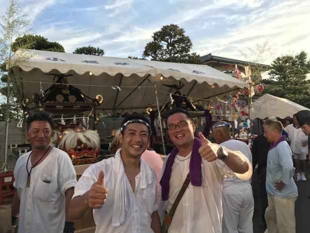 7/15,16  地域全土を60年振りに渡御!長井の大祭り!