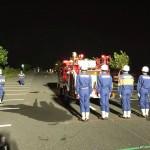 7/24 31分団が消防団の操法 県大会に出場します!(自動車ポンプの部)