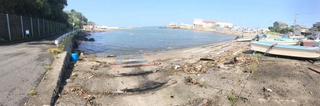 9/5 台風一過パトロール。三浦半島でも強風・波浪・高波が続いておりますが、大きな被害は無い模様