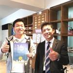 オーストラリアから一時帰国された田中さんとミーティング!