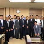 昨日は、よこすか未来会議の議会控え室に、県会議員の近藤大輔さんがご挨拶でお越しいただきました!