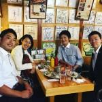 渋谷区議の神薗さんに来須賀いただきました!