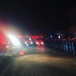 昨晩から消防団の夜間特別警戒がスタートしました!