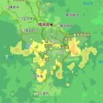 先ほど大雨警報が発表されました。
